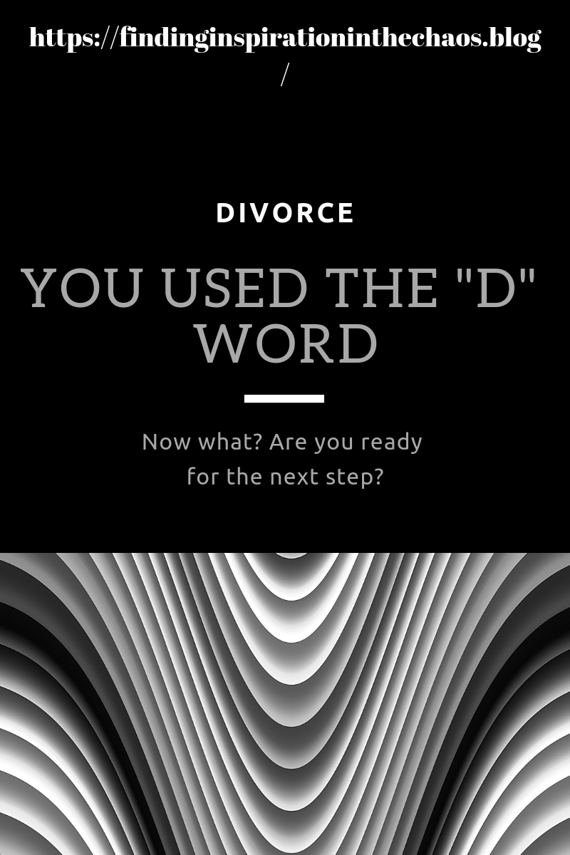 Divorce Now What