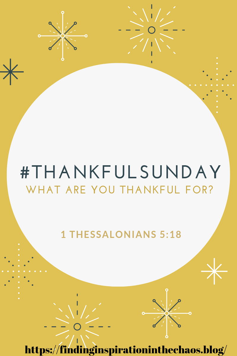 Thankful Sunday Dec. 30